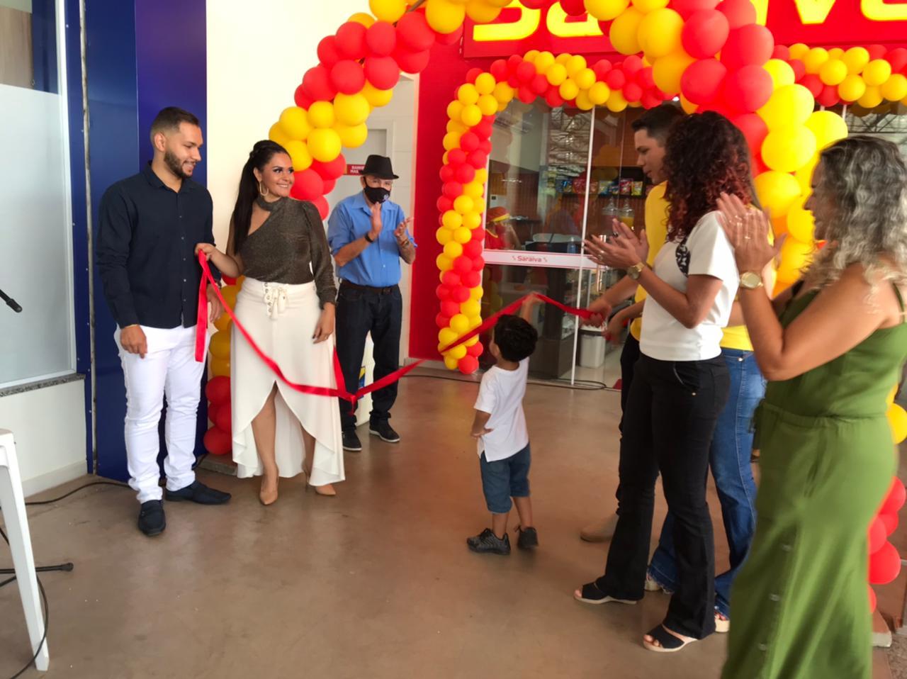 Confira as fotos da inauguração da nova loja da Panificadora Saraiva em Picos