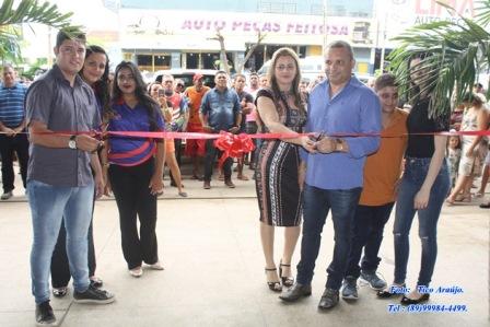 Empresário Zomin inaugura novo empreendimento em Picos