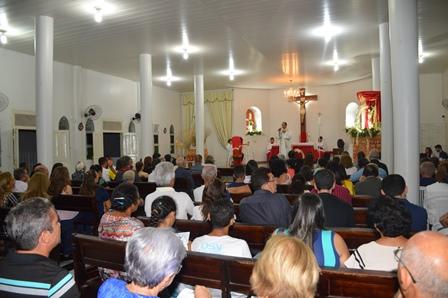 Comunidade de Aerolândia celebra 29 anos de devoção ao Padroeiro