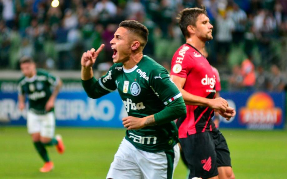 Palmeiras mantém a liderança ao vencer o Athletico-PR no Allianz Parque