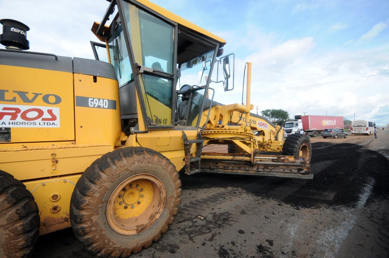 DER inicia obra para dar trafegabilidade à BR 316