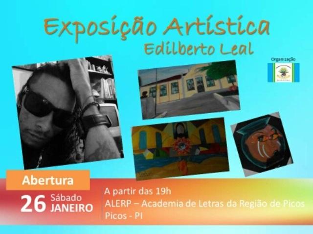 Edilberto realiza exposição hoje na Alerp