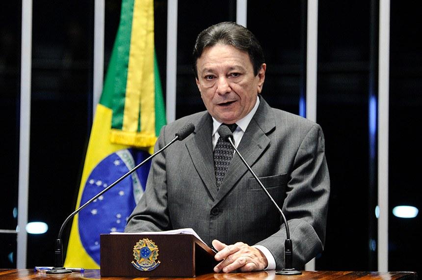 Senadores lamentam morte do ex-senador Papaléo Paes  Fonte: Agência Senado