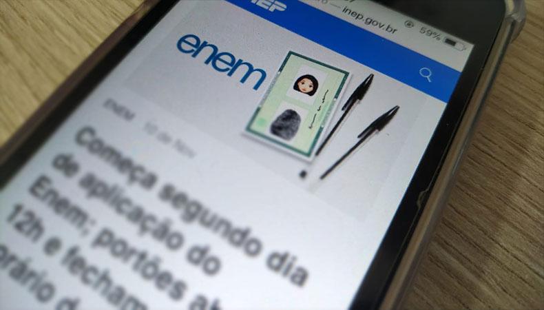 Novos inscritos no Enem farão provas em janeiro de 2022, anuncia o MEC