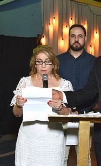 Carleusa representou a deputada federal Marina Santos