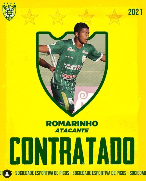 SEP renova contrato com atacante Romarinho e diz 'Craque da casa'