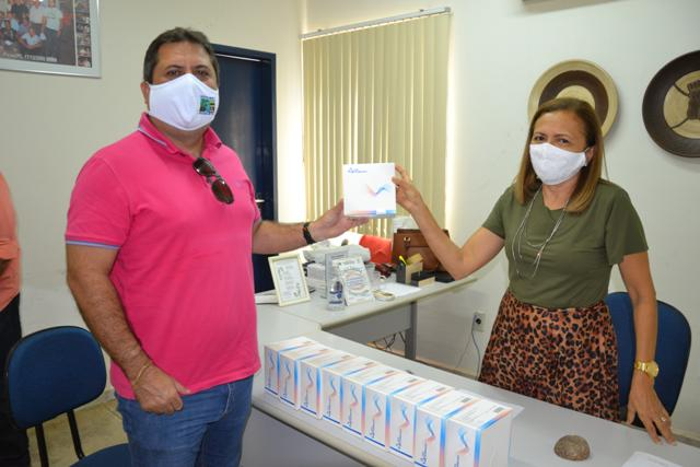 Mais 200 testes rápidos são disponibilizados para o município de Aroeiras do Itaim
