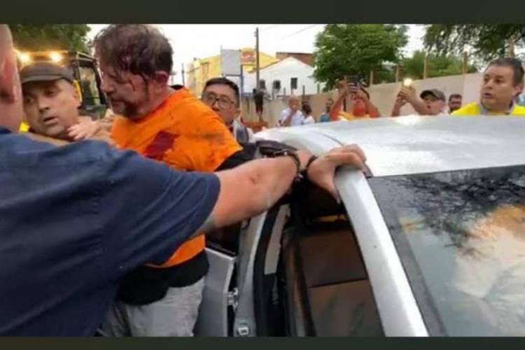 senador Cid Gomes é baleado em protesto de PMs em Sobral