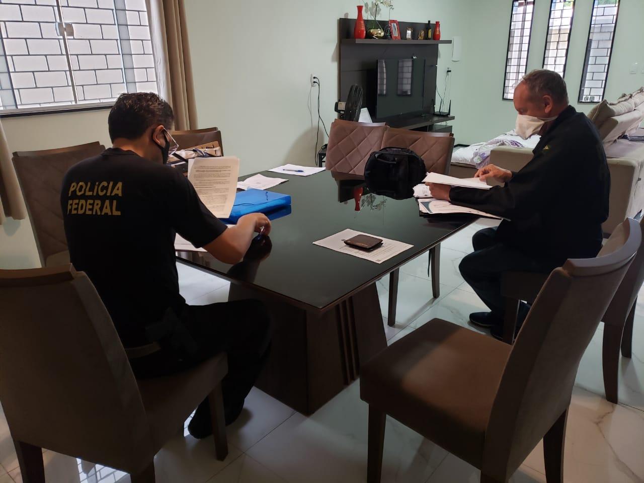 Polícia Federal cumpre mandados de busca e apreensão em nova etapa da Operação Reagente em Picos e mais três municípios