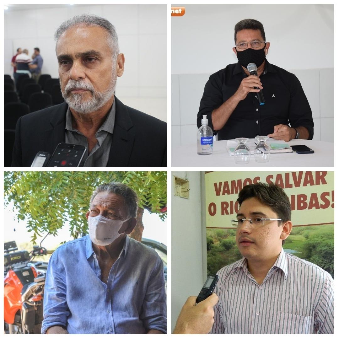 Araujinho, Coronel Viana e Gil Paraibano têm candidaturas deferidas pela Justiça Eleitoral; Gláuber Silva ainda aguarda julgamento