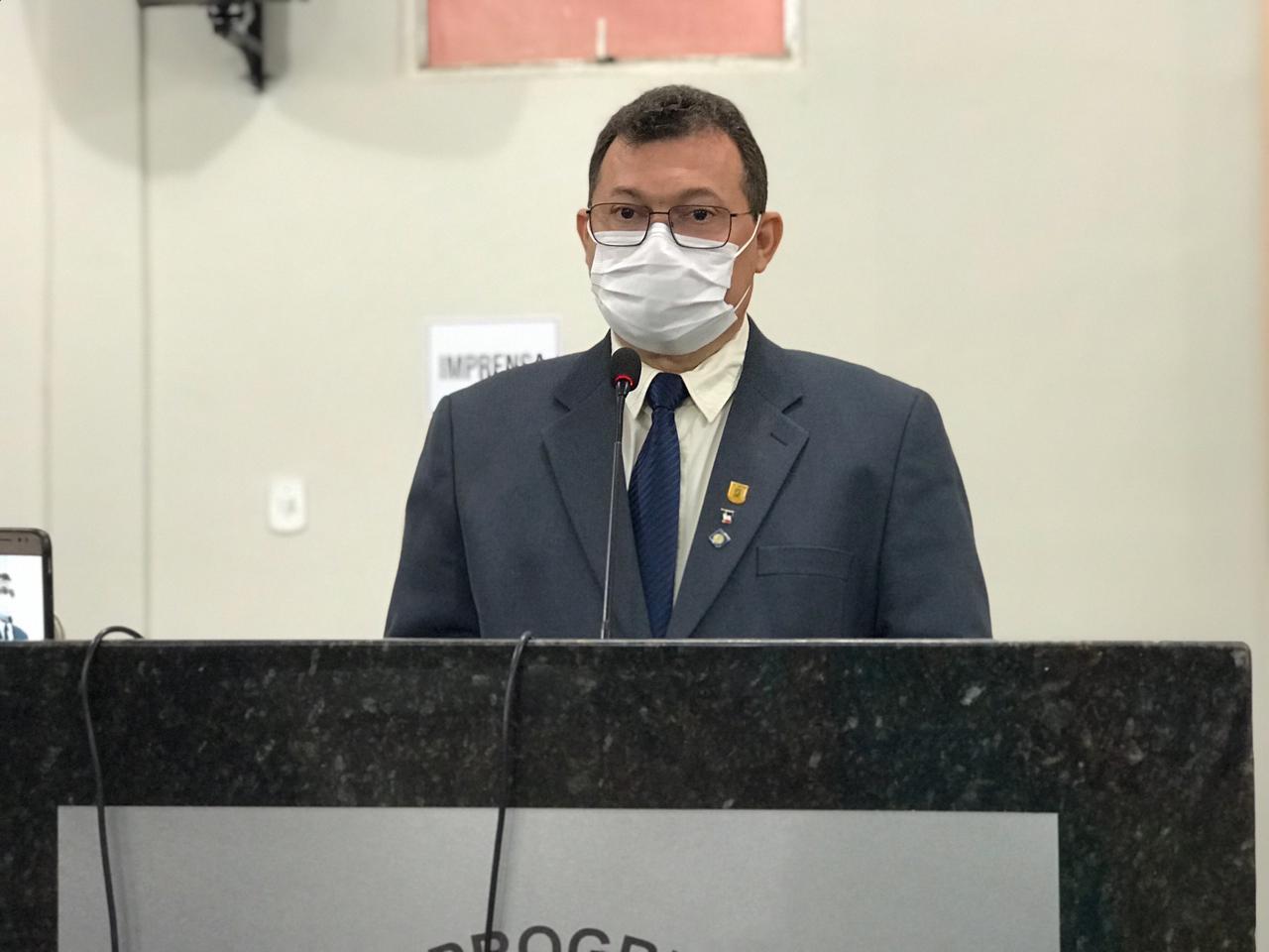 Presidente da Câmara de Picos solicita aquisição de duas UTIs móveis para o Hospital Regional Justino Luz e Secretaria de Saúde do município