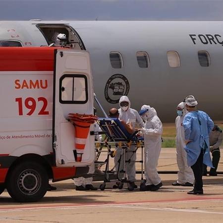 Nove pacientes de Manaus chegam a Teresina; dois vão direto para UTI