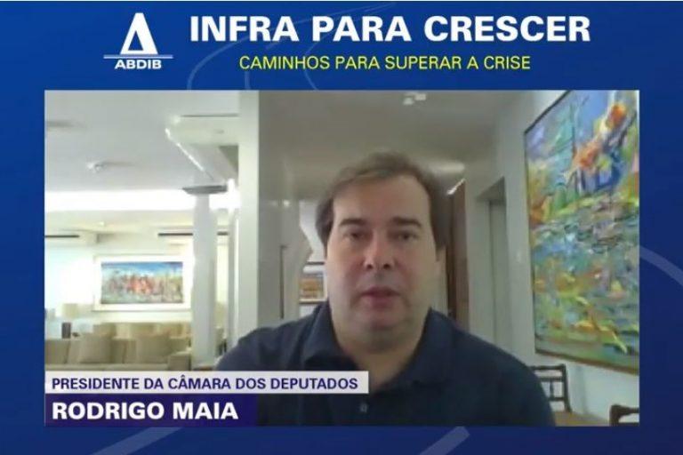 Maia defende projeto para melhorar a gestão do SUS  Fonte: Agência Câmara de Notícias