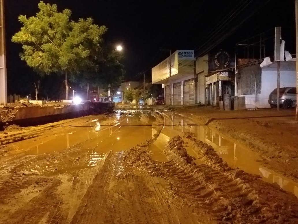 'Estamos fazendo conforme o tempo permite', diz o chefe de serviço do DNIT de Picos após chuvas atípicas no município