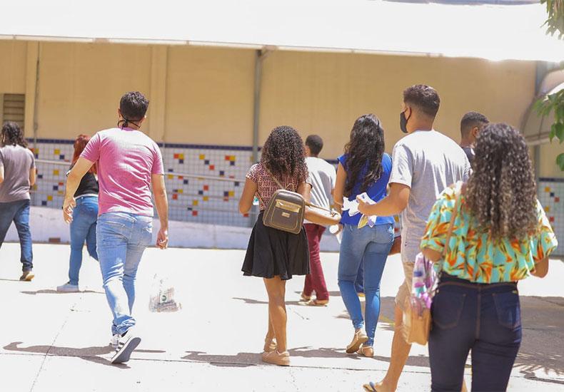 Em meio à pandemia, quase metade dos inscritos não fizeram prova do Enem no Piauí