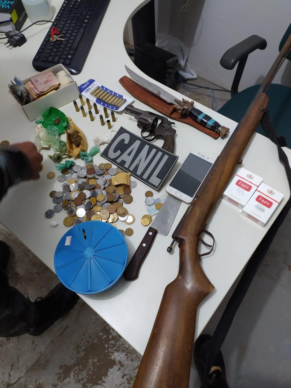 Polícia descobre Clube e Bar usado como ponto de distribuição de drogas na zona rural de Itainópolis