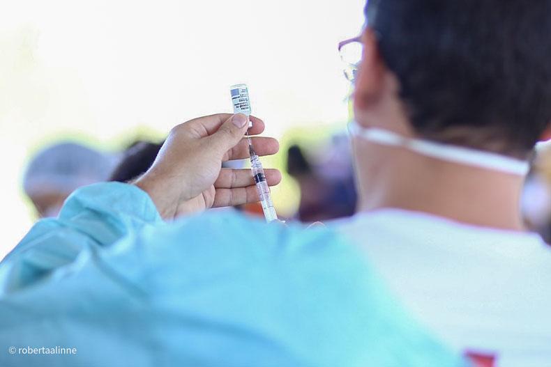 Sesapi aponta as dez cidades que menos registraram doses da vacina contra a covid