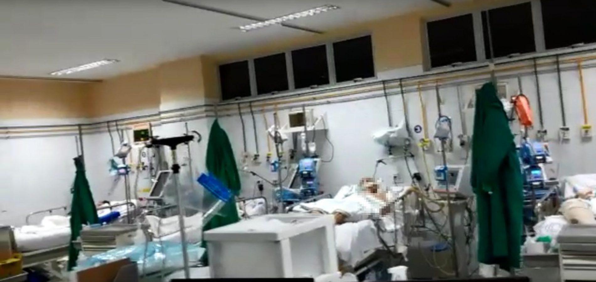 Profissionais de saúde denunciam uso coletivo de avental em atendimentos no HUT