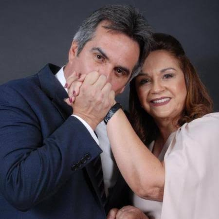 Eliane Nogueira, mãe de Ciro, toma posse no Senado Federal
