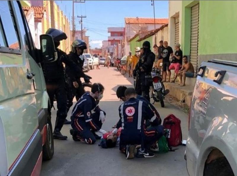Homem é atingido por disparo de arma de fogo em Picos
