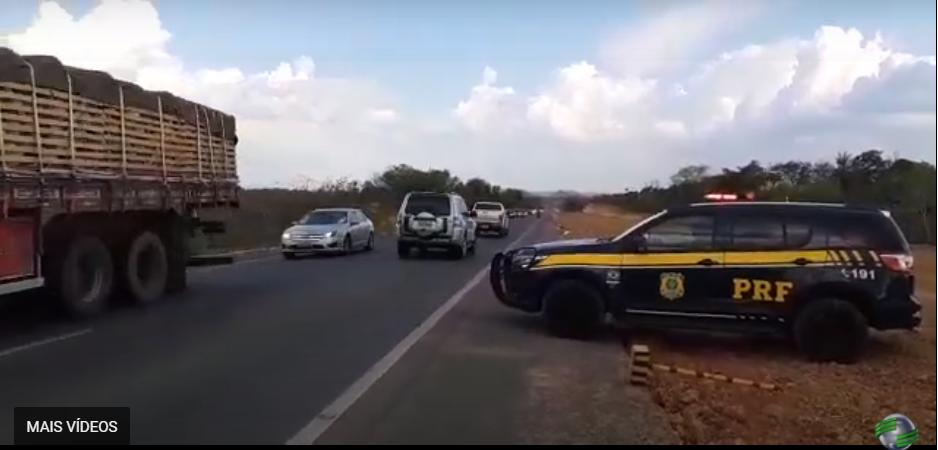 Em 4 dias, PRF registra 15 acidentes e prende 18 pessoas em operação