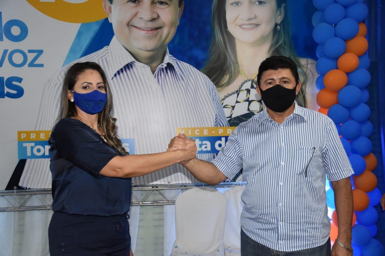 Candidaturas de Tony Borges e Tita de Galego são homologadas em Geminiano