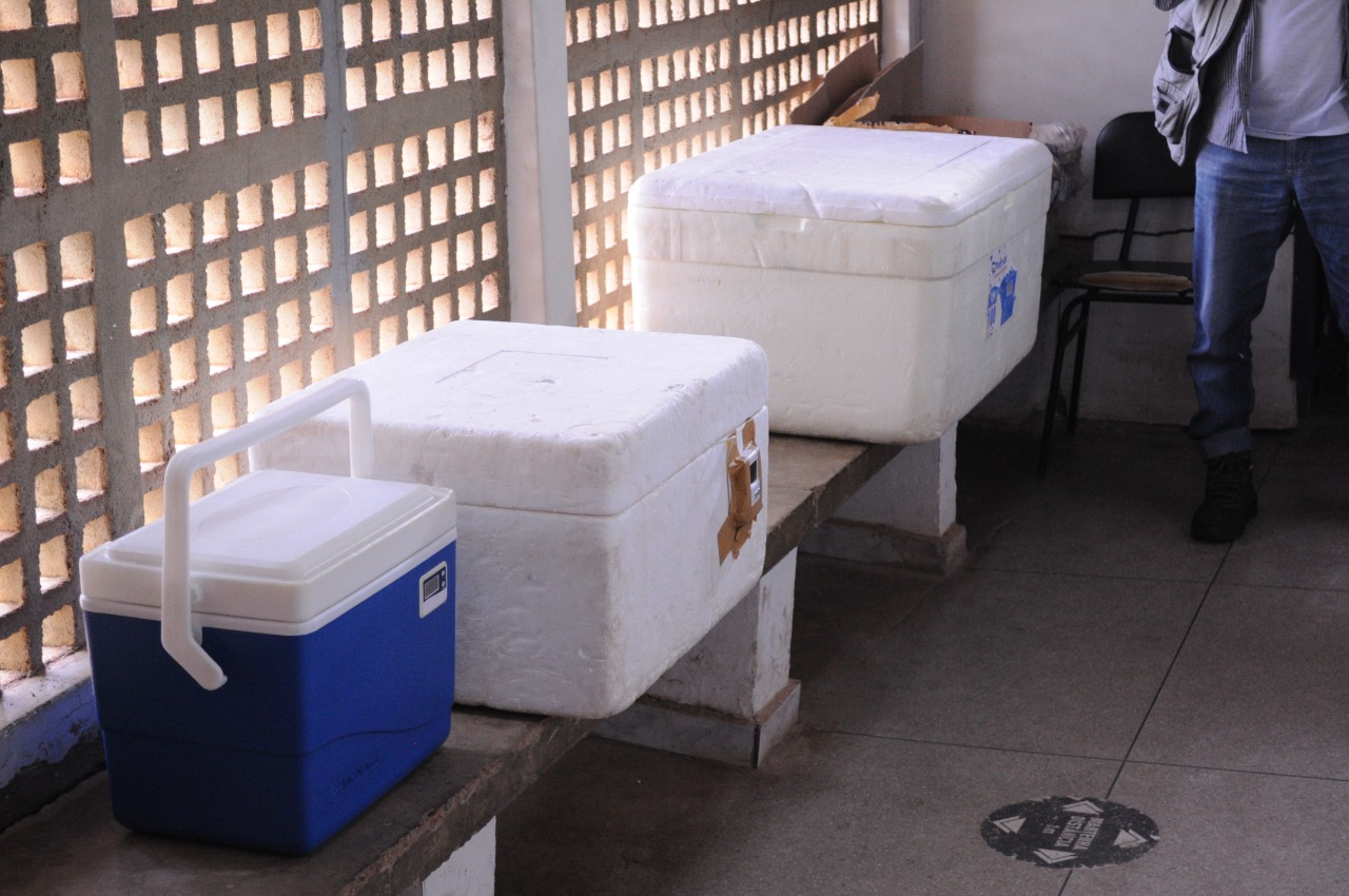 Novas doses de vacinas contra a Covid-19 chegam a Picos