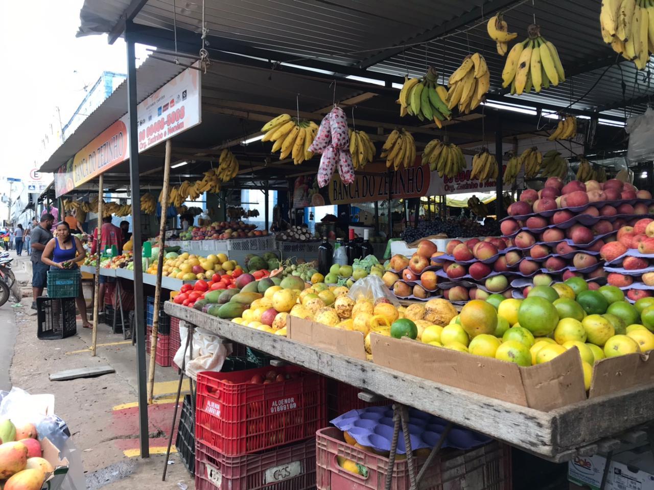 Em Picos, feira de frutas e verduras funcionará normalmente no sábado (27)