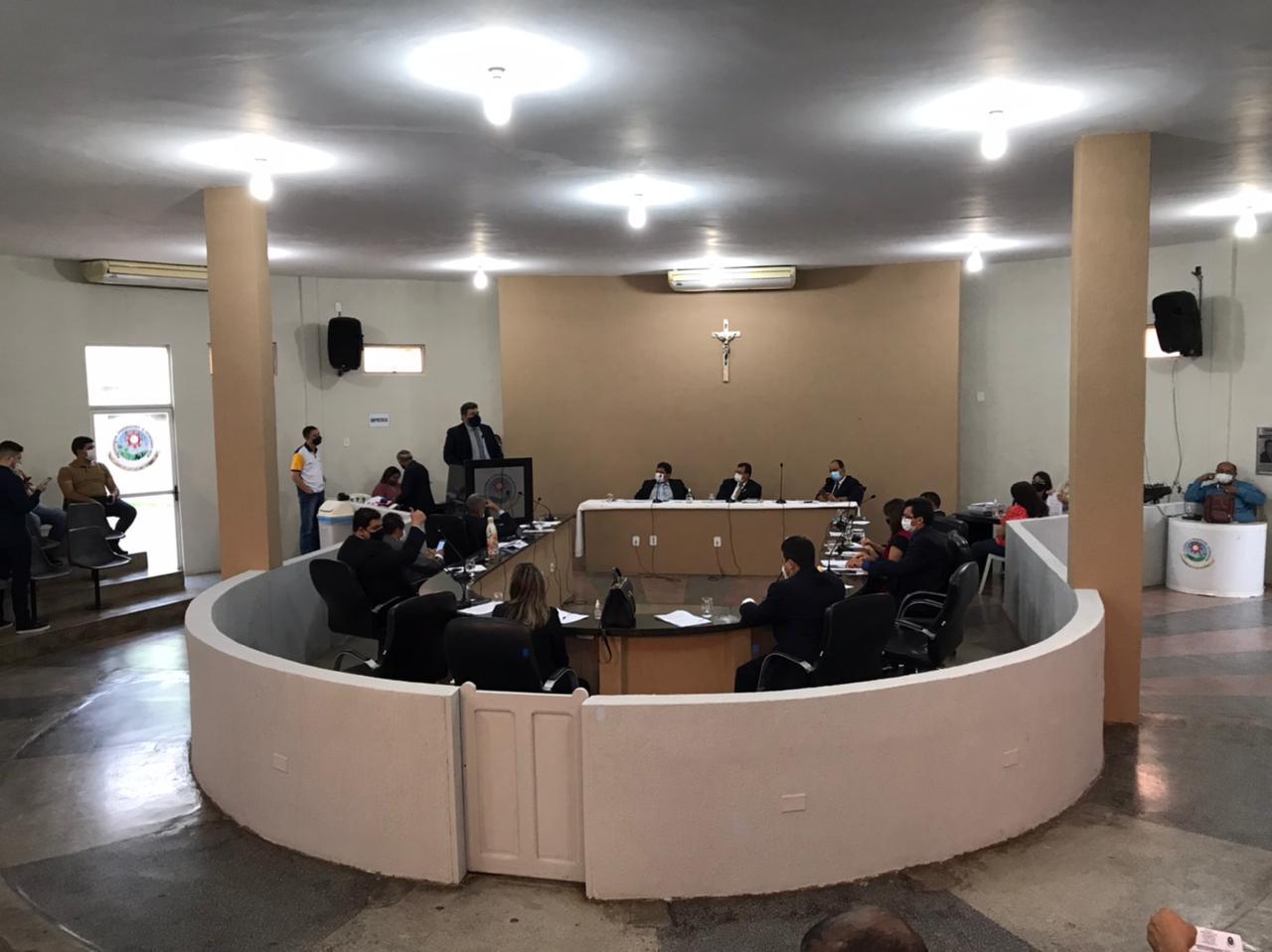 Seis projetos de lei são aprovados pelos vereadores de Picos