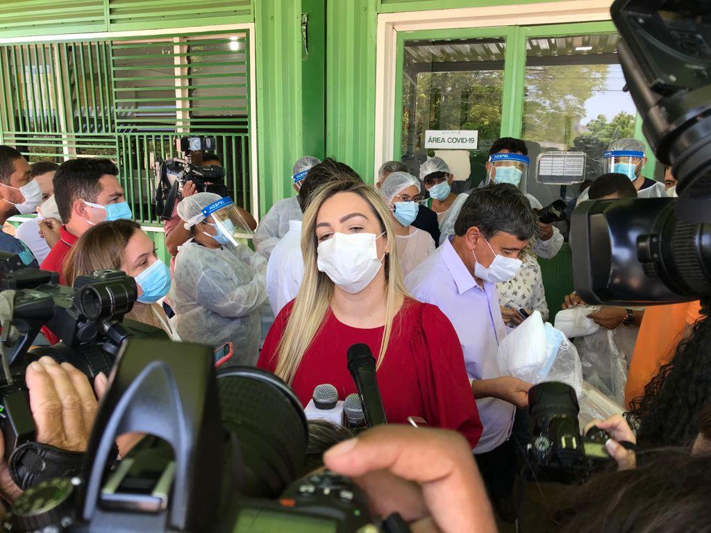 Samara Sá comunica afastamento do cargo de diretora-geral do Hospital Regional de Picos