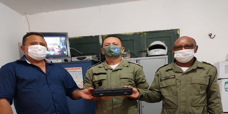 Prefeitura de Itainópolis entrega decibelímetro para a Polícia Militar do município