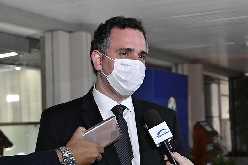 'Teremos eleições 2022 legítimas', garante Pacheco