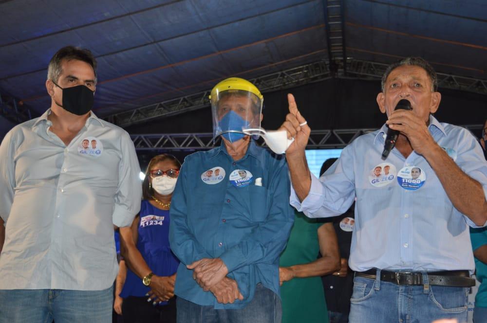 Primeiro comício marca campanha eleitoral dos candidatos Gil Paraibano e Zé Neri
