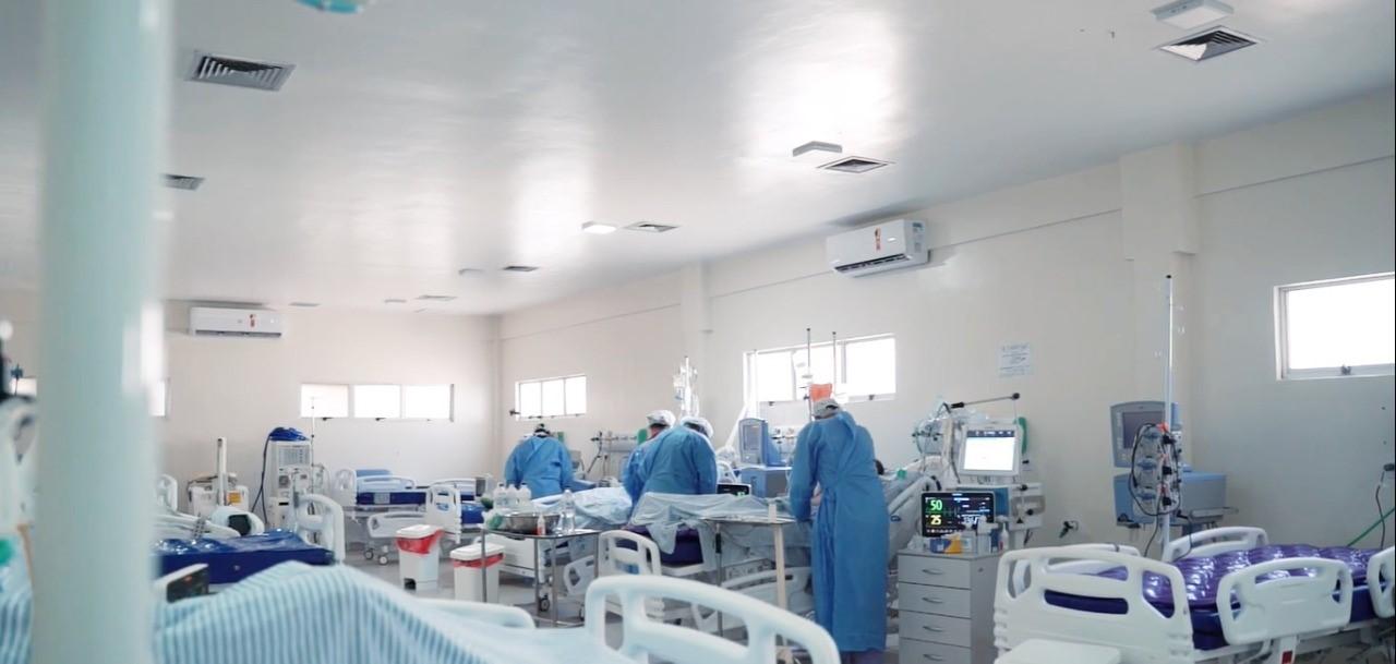 Hospital Regional Justino Luz segue com 100% dos leitos clínicos ocupados para pacientes com Covid-19