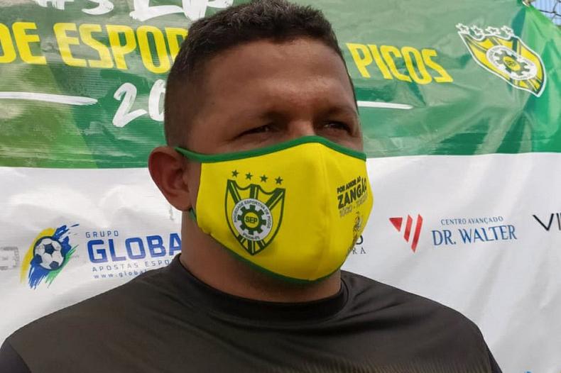 Técnico do Picos fala em jogo perfeito e filosofia nova contra Boa Vista-RJ