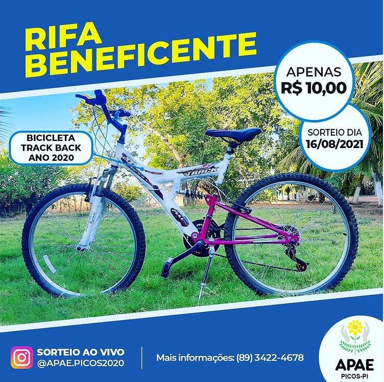 APAE de Picos promove rifa beneficente para manter os trabalhos da instituição