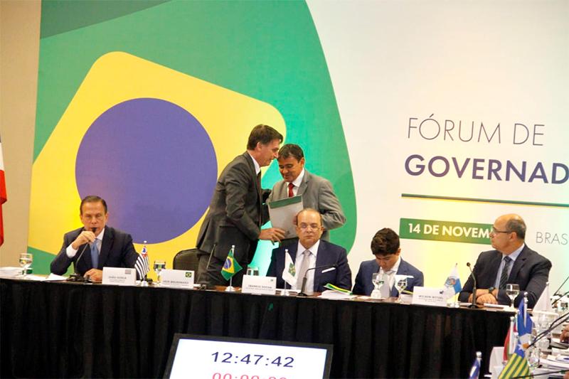 Wellington Dias participa de reunião com Bolsonaro após duras críticas