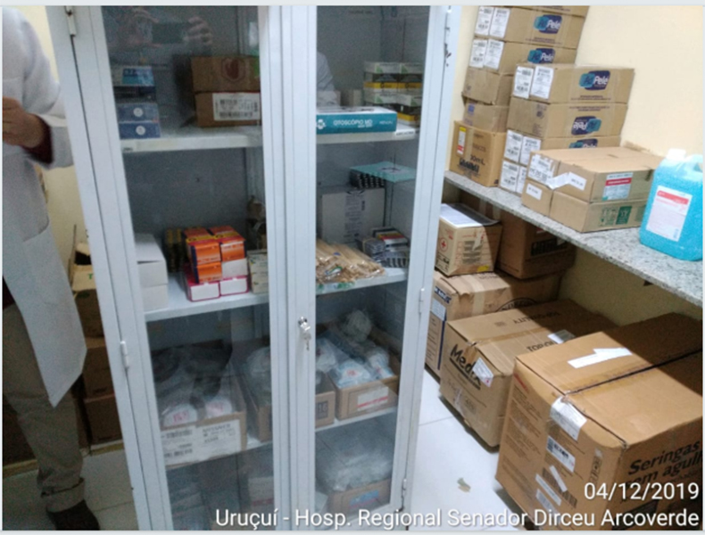 Fiscalização flagra medicamentos vencidos em hospitais públicos no Piauí