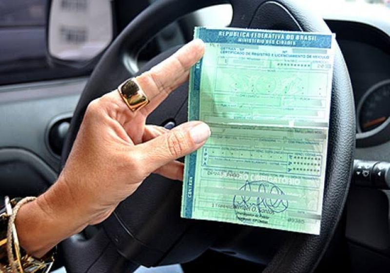 Certificado de licenciamento de veículo já pode ser impresso em casa