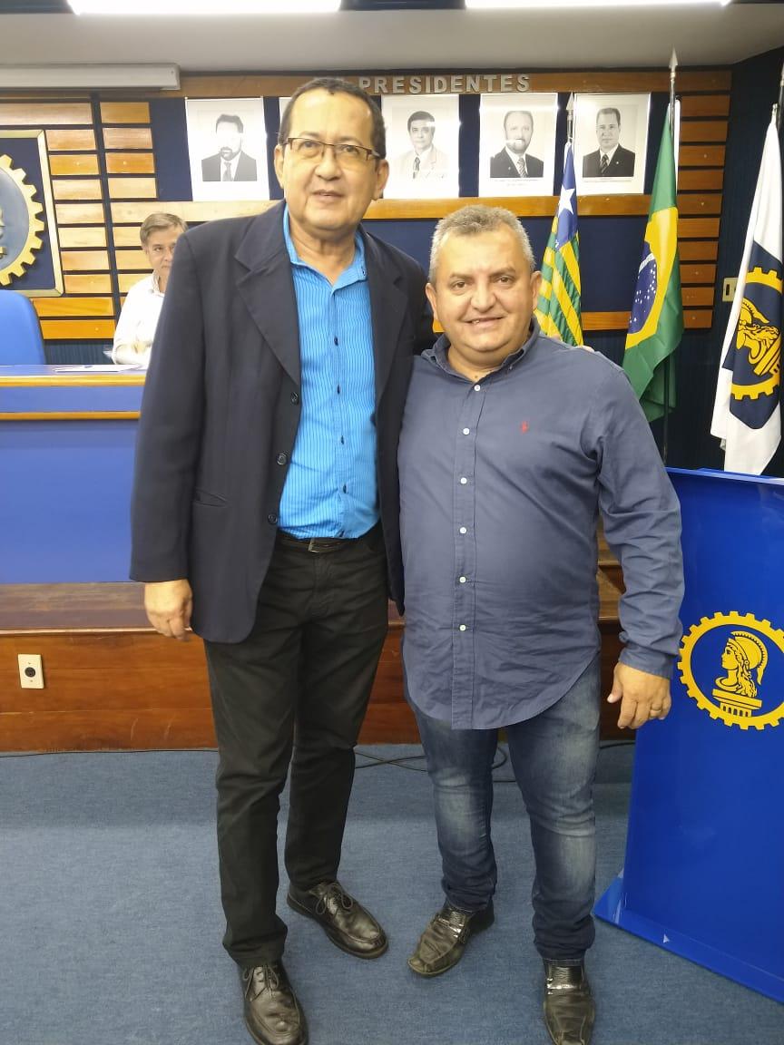 Toin é eleito vice presidente do Crea Piaui
