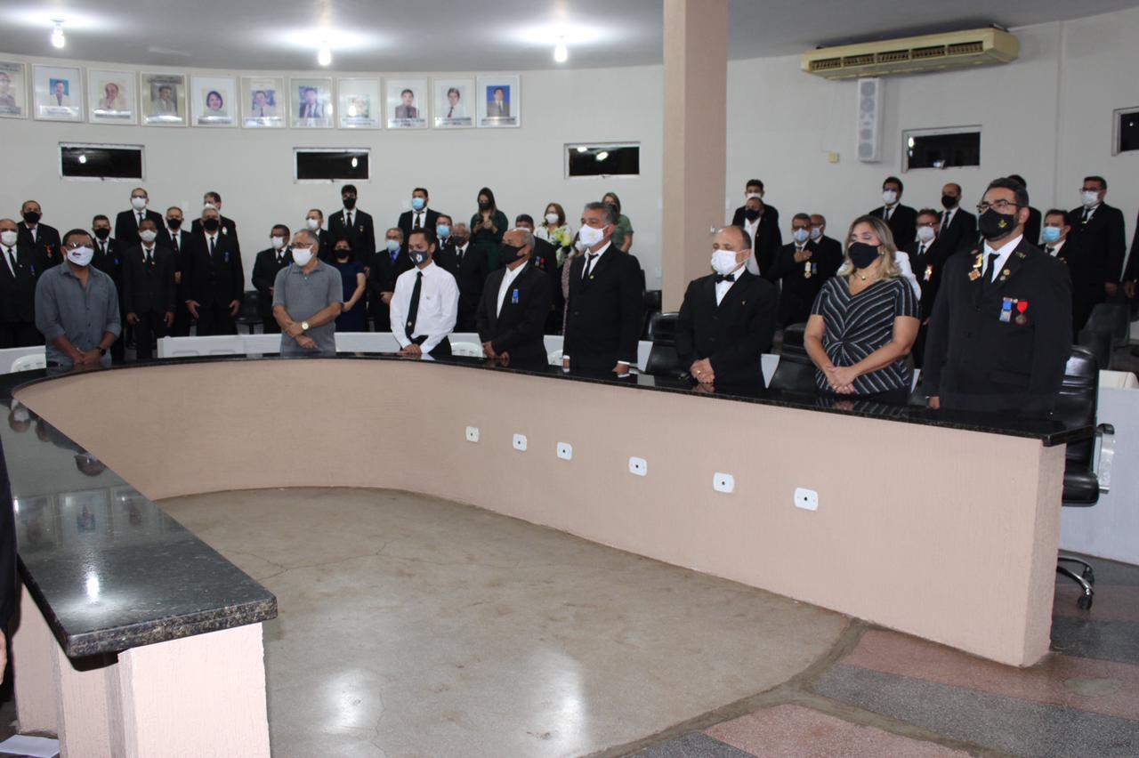 Câmara de Picos realiza sessão solene em homenagem ao dia do Maçom
