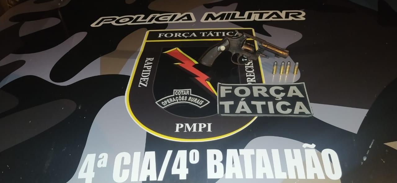 4º BPM de Picos efetua prisão de dupla suspeita de seis homicídios na região da BR 020
