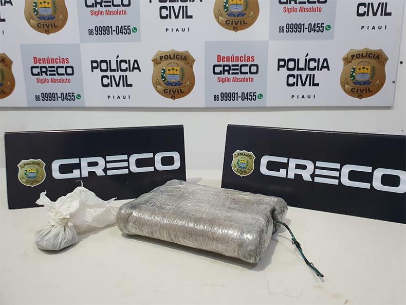 Greco apreende artefato explosivo durante buscas na zona Sul de Teresina