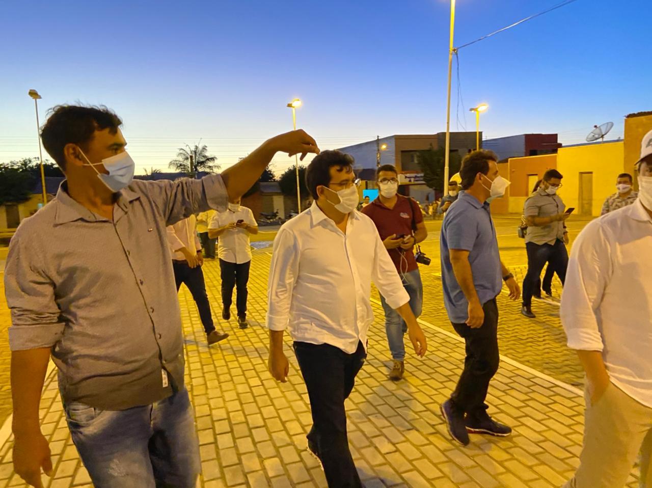 Rafael Fonteles cumpre agenda em municípios da macrorregião de Picos