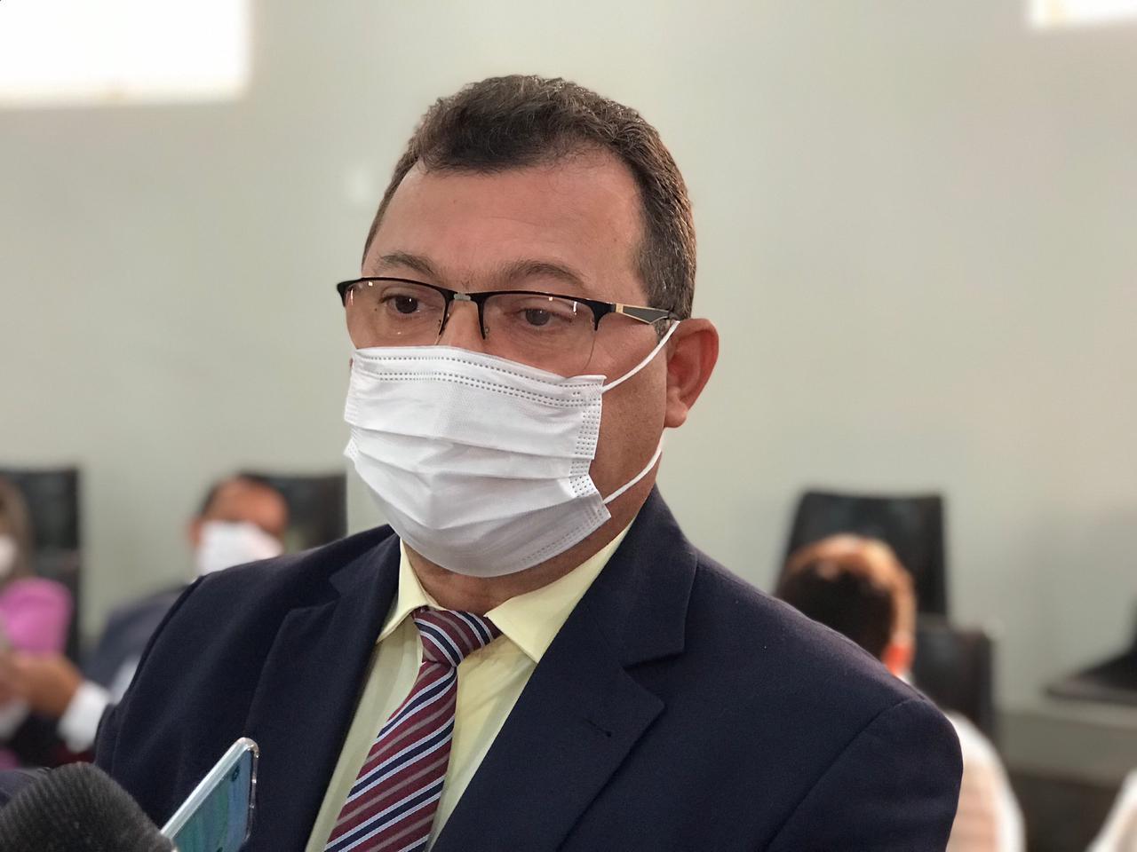 Presidente da Câmara de Picos segue internado após testar positivo para Covid-19
