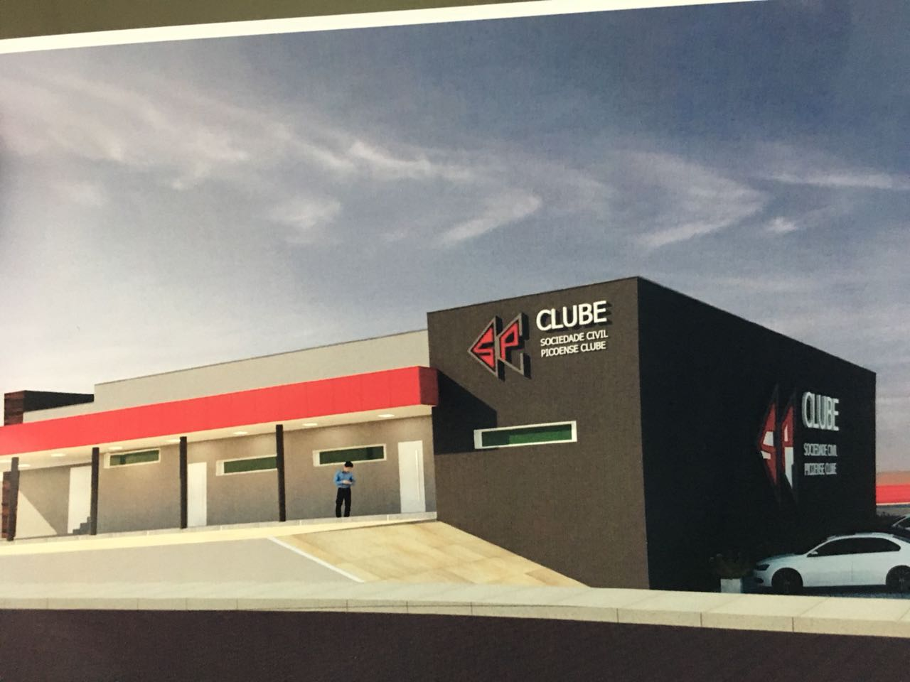 Picoense Clube será inaugurado dia 18 de Julho