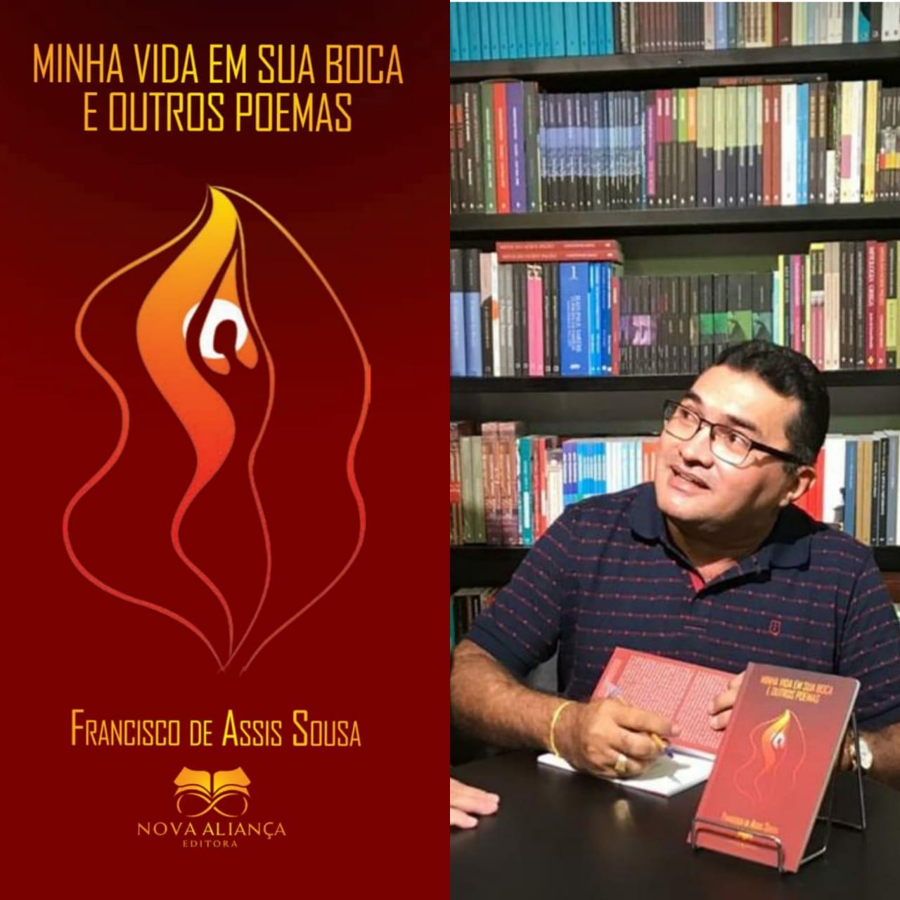 São Julião | Professor Francisco de Assis Sousa lança livro de poesia erótica neste sábado (01); confira!