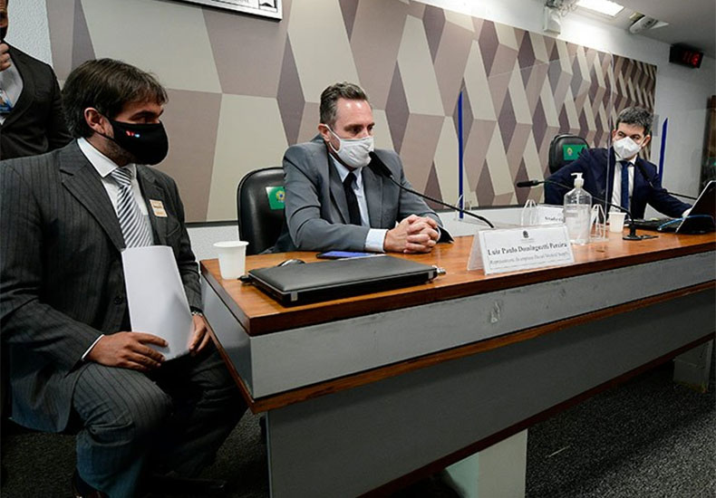Vendedor de vacinas reafirma à CPI pedido de propina, divulga áudio de deputado
