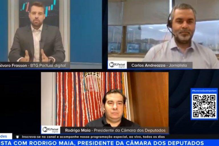 Maia: governo precisa apresentar programa de renda mínima ao Congresso  Fonte: Agência Câmara de Notícias