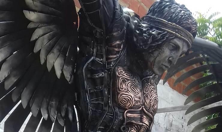 Escultura de anjo homenageará Torquato Neto na Ponte Estaiada